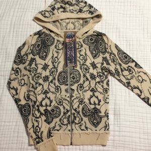 L.A.M.B. Cashmere Hooded Sweater S